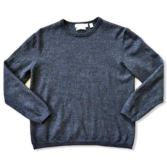 CALVIN KLEIN | 100% Extra Fine Merino Wool Sweater